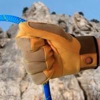 Перчатки для работы с верёвкой