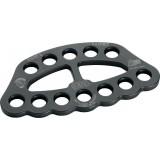 Такелажная пластина Petzl Paw (P63 LN) Black (350 г)