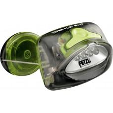 Налобный фонарик Petzl Zipka Plus (E48 PT) Dark Gray / Lime Green