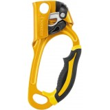 Зажим Petzl Ascension (B17ARA) Black / Yellow (правый)